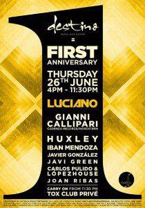 Luciano, Ibiza Veto Social Club Party