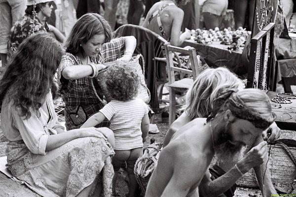 Origen de los hippies en Ibiza